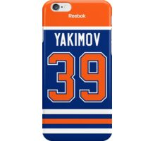 Edmonton Oilers Bogdan Yakimov Jersey Back Phone Case iPhone Case/Skin