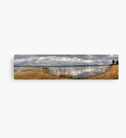 Wetland Cloudscape Canvas Print