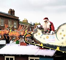 Santa and his Elf ........ by lynn carter