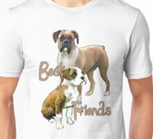 Boxers Best Friends Unisex T-Shirt