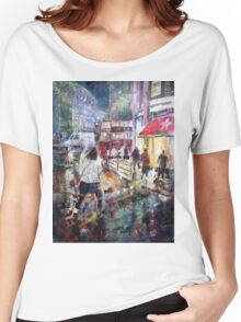 London After Dark - Night Time In City Women's Relaxed Fit T-Shirt
