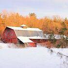 A Long Hard Winter - Sterling, MA by Howard Simpson