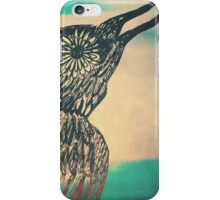 she's a bird iPhone Case/Skin