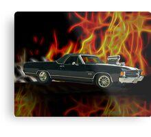 1970 Chevrolet El Camino SS Metal Print