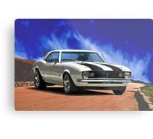 1967 Chevrolet Camaro Metal Print