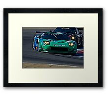 2008 Ford GT 'Tight Turn' Framed Print