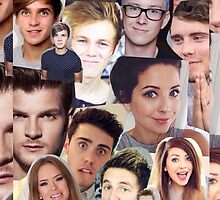 YouTubers - british youtubers + Casper Lee + Tyler Oakley  by lotusindah