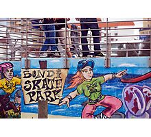 Skate Park Promotion Photographic Print