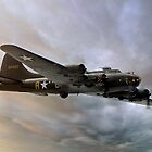 Flying Fortress at Sunset by © Steve H Clark