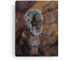 Dreamtime Elder Canvas Print