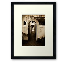 Ryneveld Lodge Alley Framed Print