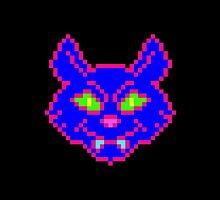 POISON CAT (BLUE) by k4te