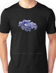 Pretty Plumbago with Raindrops Unisex T-Shirt