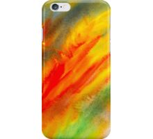 Abstract colorful watercolor painting iPhone Case/Skin