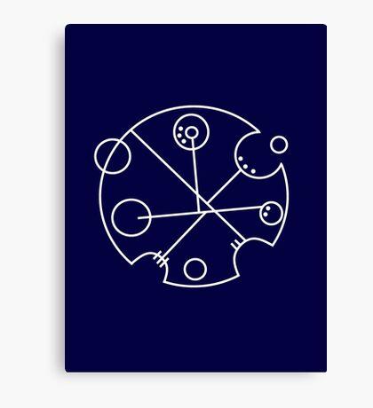 Galifreyian Symbol Canvas Print
