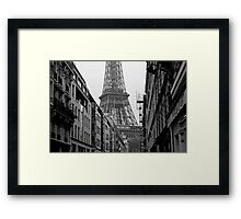 Paris Architecture Framed Print