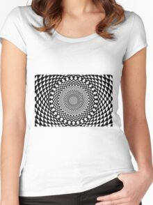 Experimentalism #0001 Women's Fitted Scoop T-Shirt