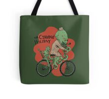 Mr. Cthulhu's Holiday Tote Bag