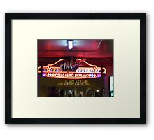 A Different Entrance  Framed Print