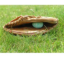 The Catcher's Mitt Photographic Print
