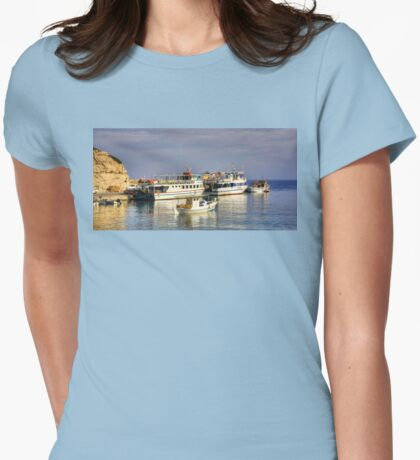 Halki Ferries Womens Fitted T-Shirt