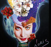 Tulip on the wind by Emi Noris