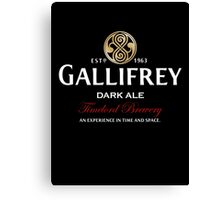 Gallifrey Dark Ale  Canvas Print
