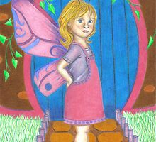 Little Fairy at her door by sarahpittman