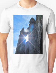 St Andrews Cathedral Sunglare Angel Unisex T-Shirt