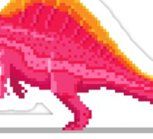 Pixel Ouranosaurus Sticker