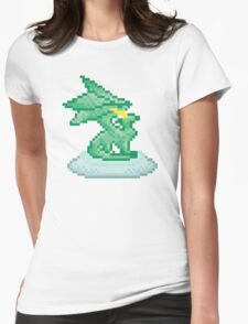 Crystal Dragon Statue Spyro Womens Fitted T-Shirt