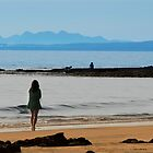 Stranger on the Shore by Gerard  Horan