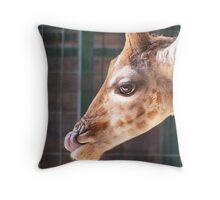 Margaret the Giraffe Throw Pillow