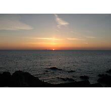 Atlantic Sunset Photographic Print