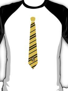 Hufflepuff Tie T-Shirt