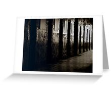 Armagh Gaol Cell Doors Greeting Card