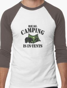 Real Camping Men's Baseball ¾ T-Shirt