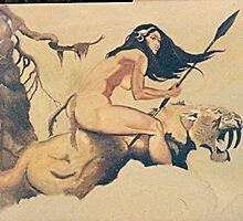 After Frazetta by dummy