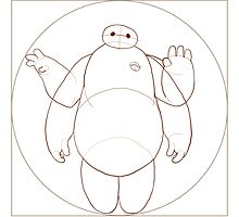 Vitruvian Baymax by Giulia Filippini