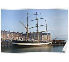 Tall Ship Pelican Of London Poster