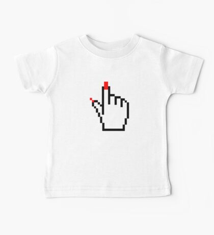 FEMALE COMUTER CURSOR POINTER Baby Tee