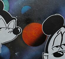 space cadet mickey by paintinmysoul