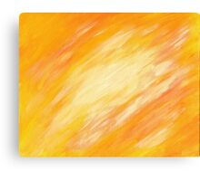 Abstract colorful acrylic painting Canvas Print