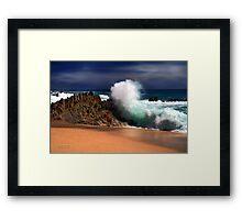 Cabo Surf Framed Print