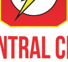 The Flash - Central City Running Club Color Sticker