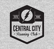 Central City Running Club Black Unisex T-Shirt