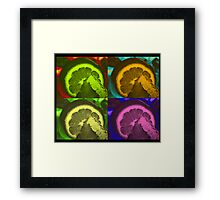 Lime Art Framed Print