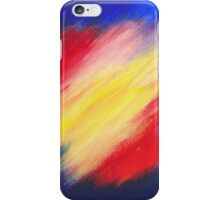 Abstract colorful acrylic painting iPhone Case/Skin