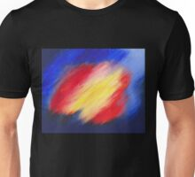 Abstract colorful acrylic painting Unisex T-Shirt