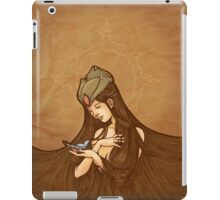 My little blue bird iPad Case/Skin